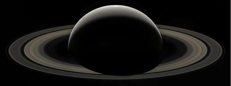 Cassini 13 settembre 2017 - mosaico di addio