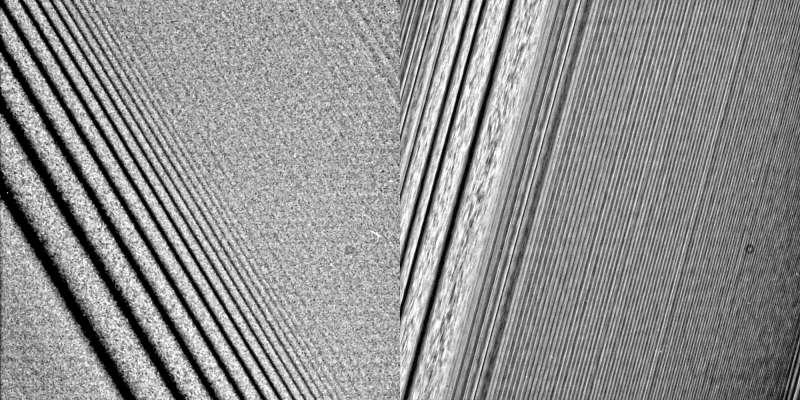Cassini Saturno ring A