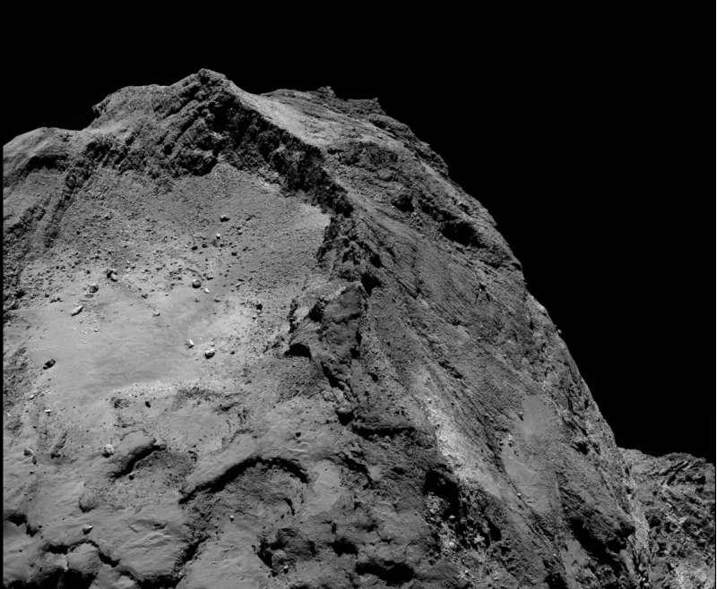 Comet on 13 February 2016 OSIRIS narrow angle camera