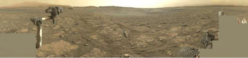 Curiosity sol 2831