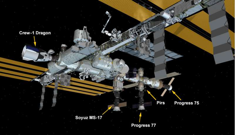 iss exp64 iss after progressms16 17022021