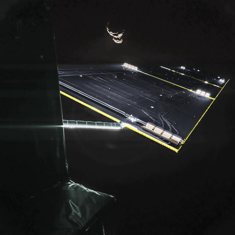Philae CIVA da 50 km