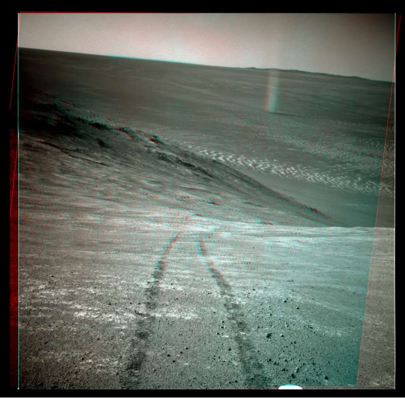 Opportunity sol 4332 anaglifo