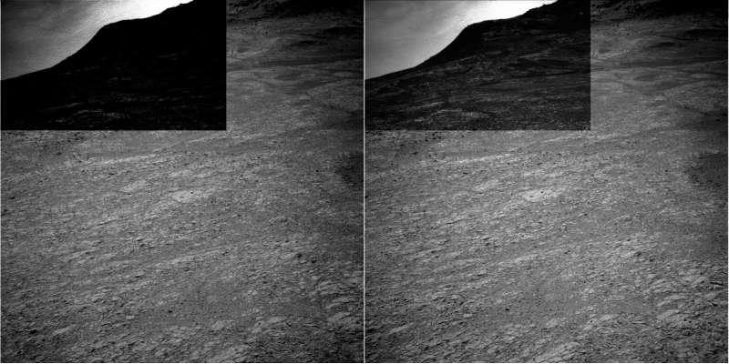 Opportunity NavCam left e right sol 4332