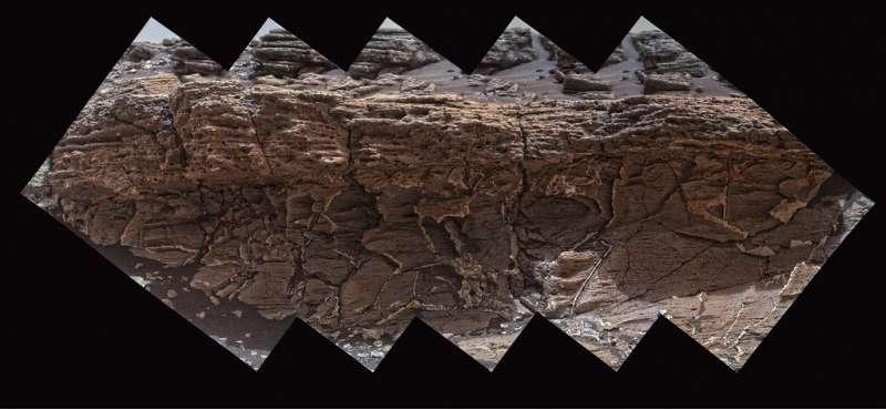 Minussola - MAHLI sol 1031