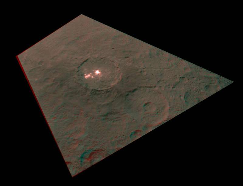 Ceres PIA19579 - 568 anaglyph