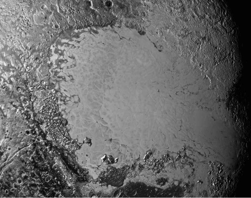 Pluto Tombaugh Regio - Sputnik Planum