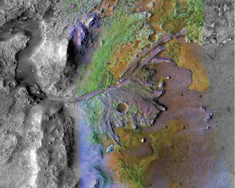 Cratere Jezero - Marte