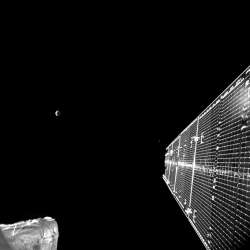 Video BepiColombo swing-by: la Terra vista dalla sonda